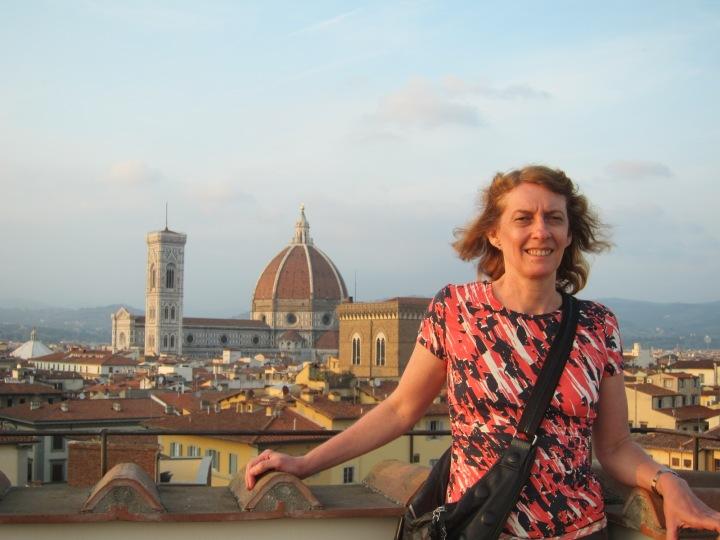 Terraço do Torre Guelfa Hotel em Florença